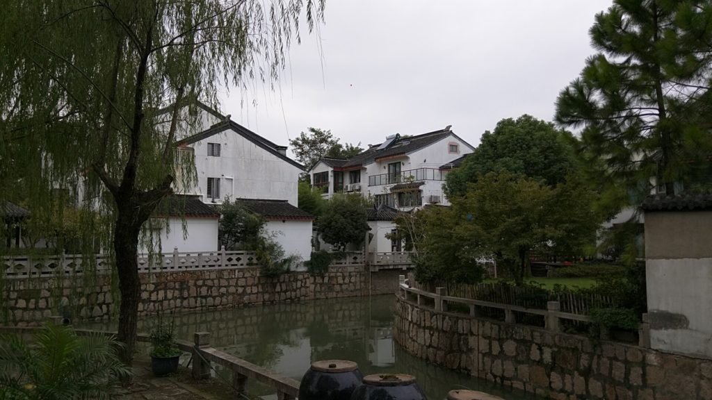 Suzhou is a city of greenery and canals