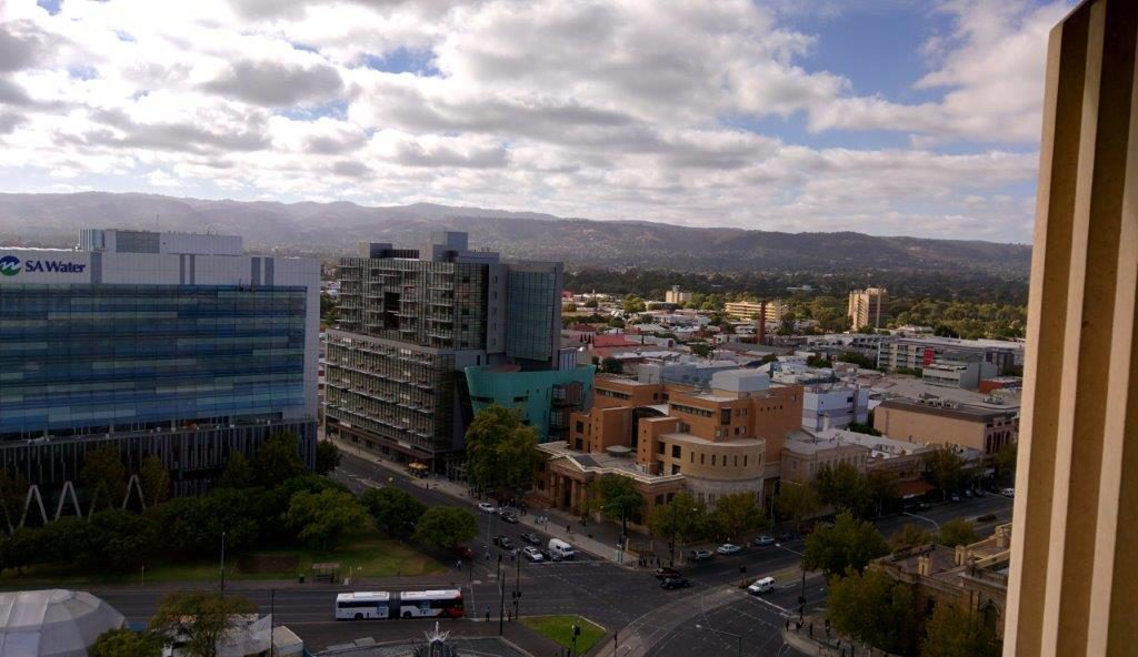 View of Adelaide from Victoria Square